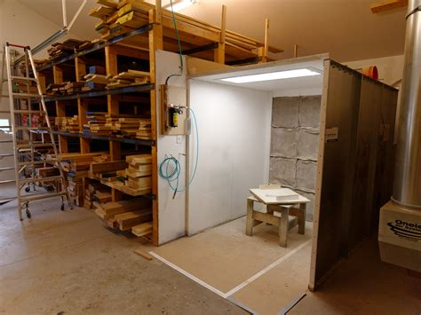 woodworking spray booth problem solved updated finishing studio for the next