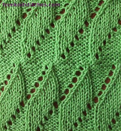 free knitted leaf patterns knitting patterns easy knitting patterns and easy