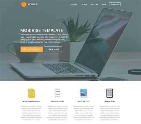 templates free 66 free responsive html5 css3 website templates 2016