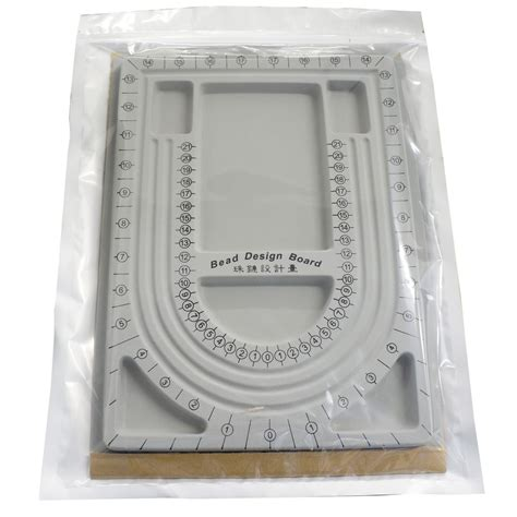 Grey Color Plastic Bead Design Board For Beading Jewelry