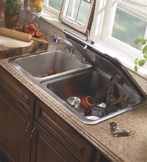kitchen sink dishwasher space saving kitchen ideas combo sink and dishwasher