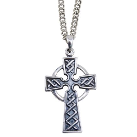 crosses for jewelry celtic cross necklace the catholic company