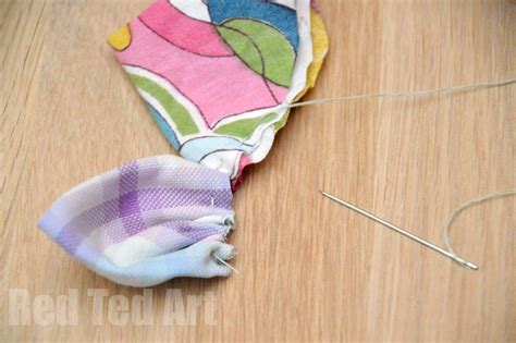 cloth crafts for easy fabric flowers ted s