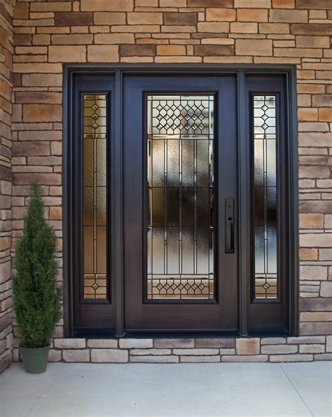 metal front doors for homes with glass provia steel door article containing the 4 reasons