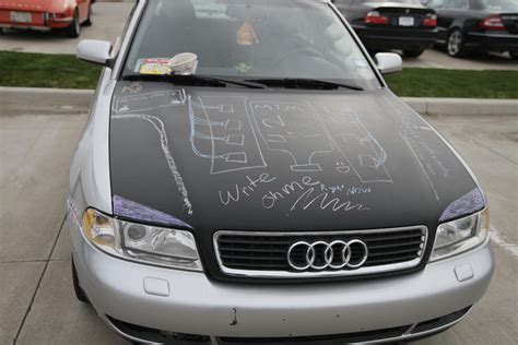 chalkboard car painting apparently painting your car with chalkboard paint is a thing