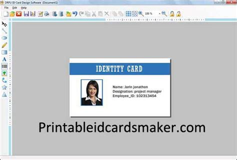 make an id card free id card maker downloads 8 2 0 1 free software