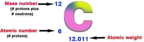 Carbon Number Of Protons by Chemistry Express The Weight Of Protons Neutrons And