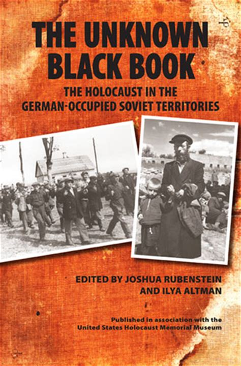 holocaust picture book the unknown black book the holocaust in the german