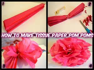 decorations for to make with paper how to make tissue paper pom poms and easy
