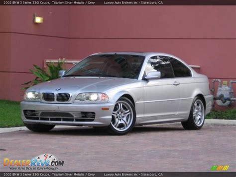 2002 Bmw 3 Series Coupe by 2002 Bmw 3 Series 330i Coupe Titanium Silver Metallic