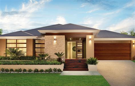 simple home design gallery popular modern single storey house designs modern