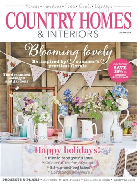 country home and interiors magazine country homes interiors magazine august 2015 subscriptions pocketmags