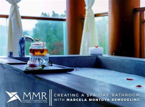 Creating A Spa Bathroom by Creating A Spa Like Bathroom With Marcela Montoya Remodeling