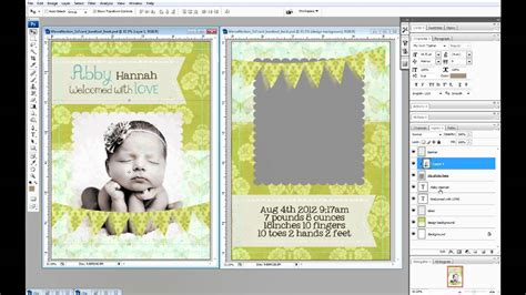 how to make a card in photoshop create 5x7 photo cards in photoshop