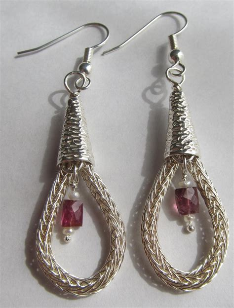 viking knit earrings viking knit earrings by crazygirl47 on deviantart