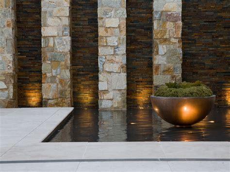 garden feature wall limestone feature walls for a breezy garden eco outdoor