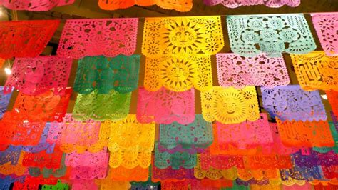mexican paper crafts papel picado translates to quot perforated paper quot mexican