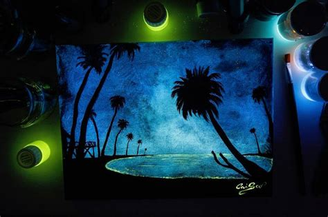 glow in the paint does it work glow in the paint reveals surprises in paintings when
