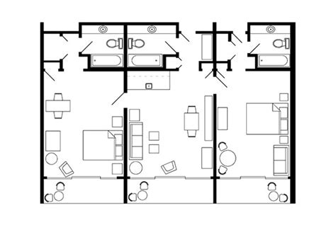 marriott grand chateau 2 bedroom villa floor plan 28 marriott club floor plan marriott