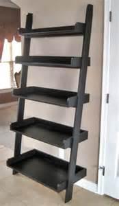 leaning ladder shelves best 25 leaning shelves ideas on ladder