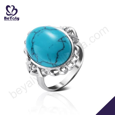 wholesale stones for jewelry wholesale silver oval blue opal stones jewelry