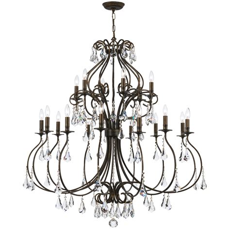 crystorama hton chandelier crystorama hton 5 light chandelier 28 images
