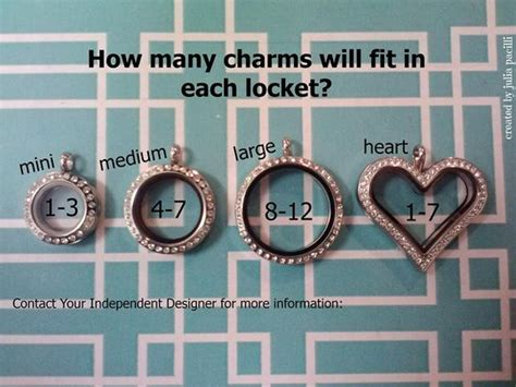 how many charms fit in origami owl lockets how many charms will fit in each locket origami owl