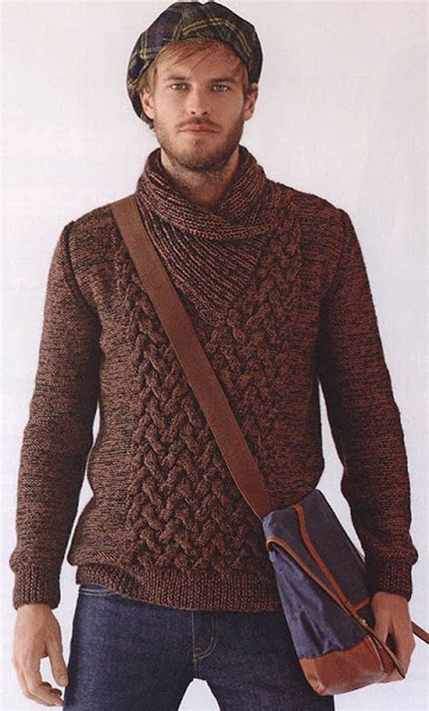 mens knitted sweater 138 best mens knitwear sweaters images on