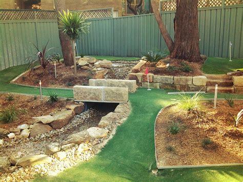 backyard mini golf backyard mini golf flickr photo