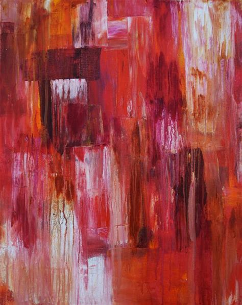 how to distress acrylic paint on canvas door abstract original acrylic painting