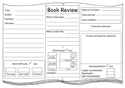 book review pictures my class writing a book review plan