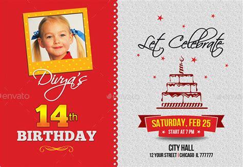 make birthday invitation card birthday invitation template 36 free word pdf psd ai