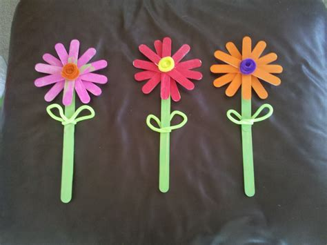 flowers crafts in montana craft stick flowers