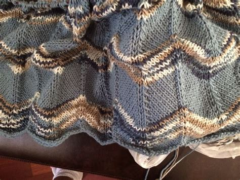 knitted ripple baby blanket 17 best images about knitting in progress on