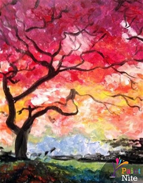 paint nite tree paint nite the tree