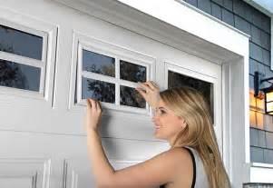 Garage Door Plastic Window Inserts Clopay Door How To Clean Your Garage Door Windows