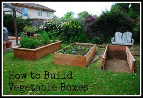 a vegetable garden box how to build raised bed box for a garden pallet
