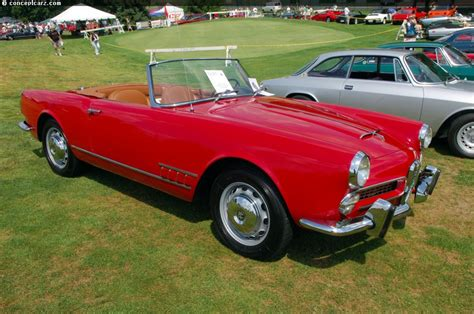 Alfa Romeo 2000 Spider by 1959 Alfa Romeo 2000 Spider At The Pvgp Car Show