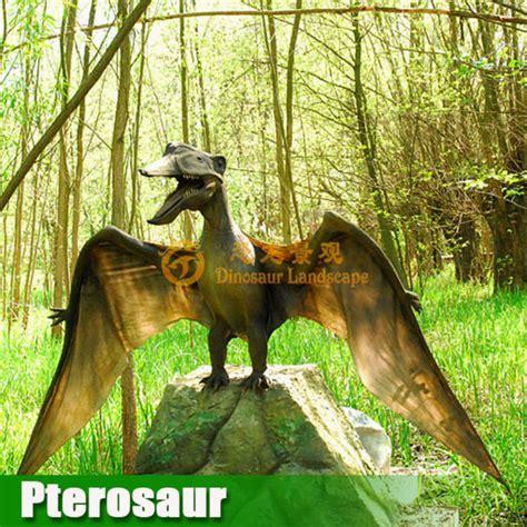 dinosaur rubber st real flying pterosaur animatronic dinosaur made of