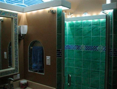 led lighting in bathroom led bathroom lighting using led modules