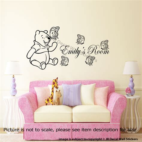 classic winnie the pooh wall decals for nursery classic winnie the pooh nursery wall stickers 28 images