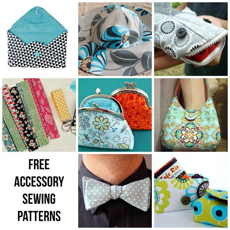 sewing crafts for free accessory patterns to sew today