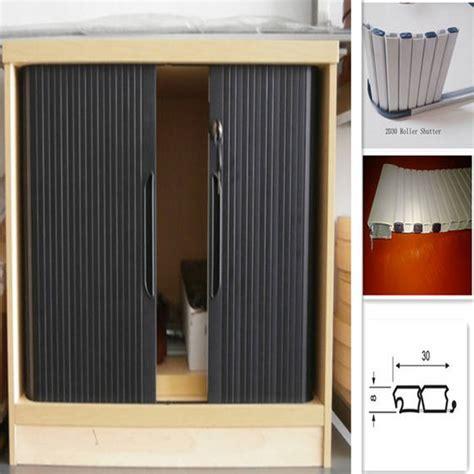 cabinet roller shutter doors pvc roller shutter door kitchen cabinet tambour buy