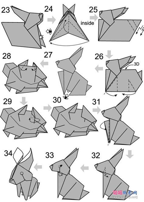 how to make an origami rabbit origami rabbit 3 printmaking origami