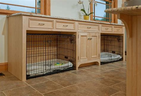 Transitional Dog Crates Laundry Room Traditional With Dogs