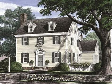small colonial house plans colonial house plans the house plan shop