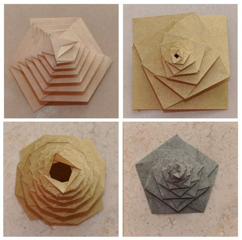 fuse designs origami whirlpool designs and the geometer s sketchpad