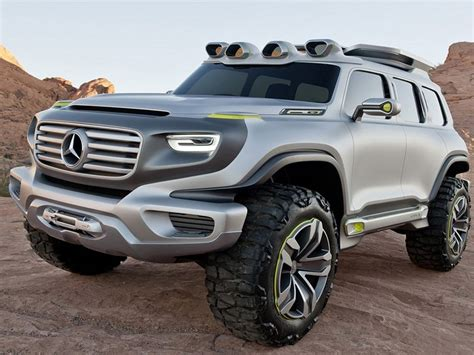 Best 4x4 Suv by Mercedes Ener G Concept Best Suv For Road