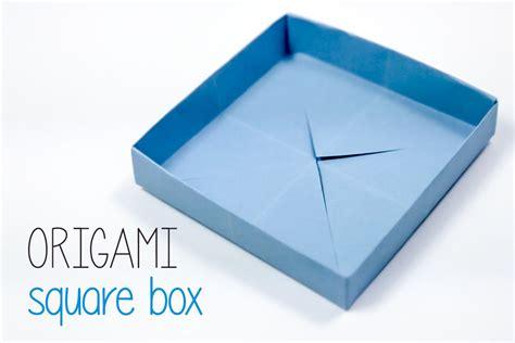 origami square box origami square box