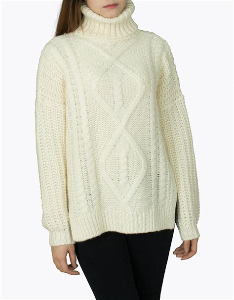 cable knit turtleneck chunky knit turtleneck cable sweater annakastle